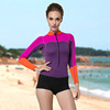 worth buying best quality ladies 2mm neoprene chest zip rubber wetsuit from china