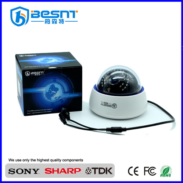 lens 3.6mm/6mm optional 900TVL IR 30m inside bus dome camera cctv waterproof BS-617