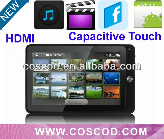 7 inch waterproof Tablet pc,HDMI Capacitive Touch Telechip8803 1.2Ghz