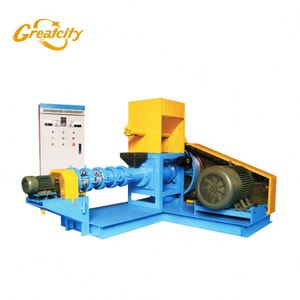 Animal Feed Mill Soybean Meal Extruder Machine