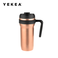 450ml stainless steel mug travel cup coffee cup with handle