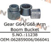 GEAR G64 G61 ARM BOOM BUCKET OEM 062859006 066041 Concrete Pump spare parts for Putzmeister Zoomlion Sany