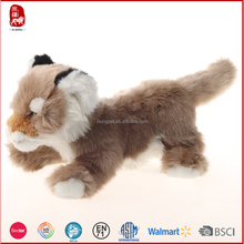 Plush toy animals fox wholesale by ASTM and BSCI detection china