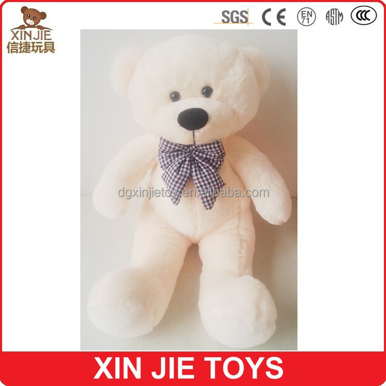 gaint teddy bear plush toy big brown plush teddy bear toy huge white soft teddy bear toy