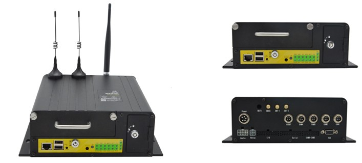 4ch 1080p sd card mdvr gps 3g wifi Mobile DVR / MDVR for school bus