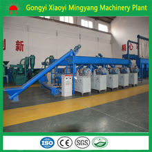CE approved Coal dust wood briquette extruding machine on sell