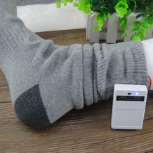Men With Battery Socks Foot Massage Socks Heated