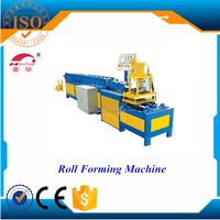 roll forming machine for shutter door / electric roll forming machine supllier / Aluminium steel door frame and window making ma