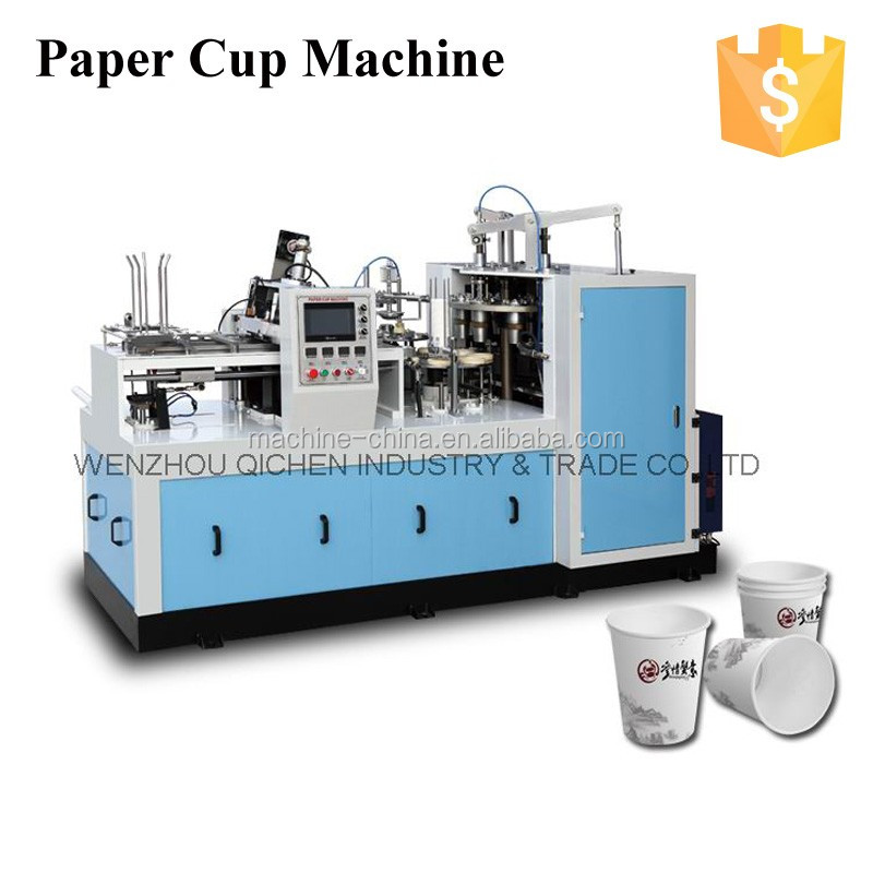 Easy Running Low Power ZBJ-X12 middle speed jbz a12 paper cup machine