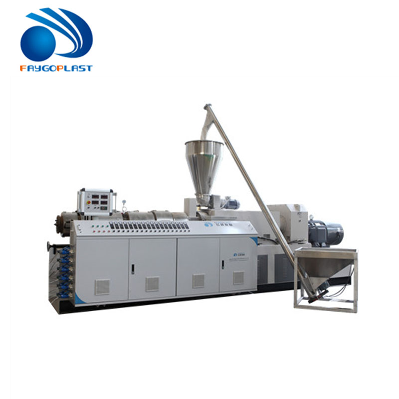 High density PVC pipe extrusion making machine equipment /Cable pipe extrusion line