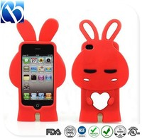 Skidproof soft silicone cell phone case