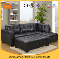 Sectional leather sofa from furniture manufacturer