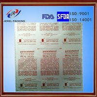 pharma aluminum film and packaging capsule