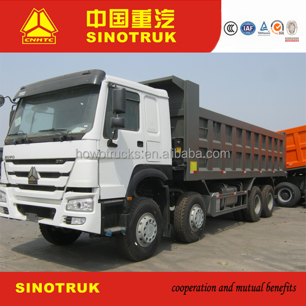 Howo truck price for coal mining tipper truck hot sale
