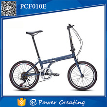 China manufacturer 7 speed variable speed 20'' wheel cheap folding bike