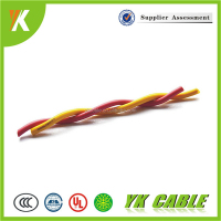 High Temperature electrical flexible fire resistant twisted pair cable