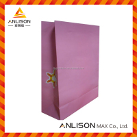 Custom promotional paper shopping bag