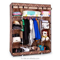 S7 high-quality & cheap portable bedroom closet wardrobe cabinets storage closet organizers folding wardrobe ikea wardrobe