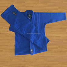Custom Bjj gi kimonos , Blue light weight 450gsm for training