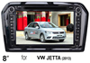 "(for VW JETTA (2013)) 8"" car DVD GPS player for VW car, with TV,radio, bluetooth, 3G WCDMA"