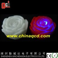 flower shape waterproof led candle, led floating candles