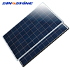 Fire Protection Level 5VB junction box 280 watt poly solar panel with TPT 0.3mm back sheet