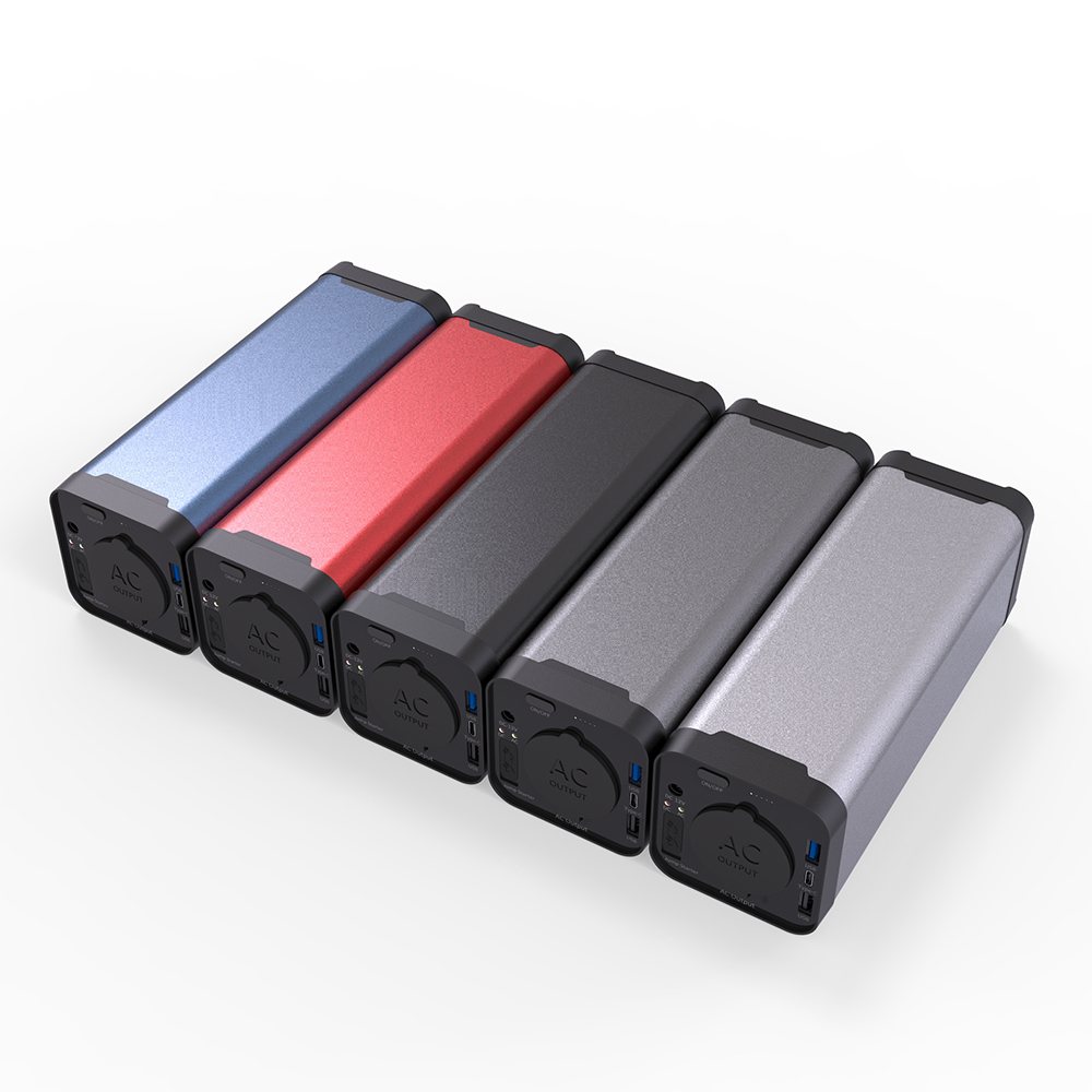 Custom Portable <strong>AC</strong> 110V/220V Output 40000mah Power Bank for Laptop Notebook Mobile Phone