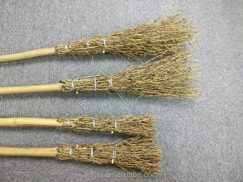 China Witch brooms hot bamboo crafts for 2017 decorative artificial bamboo sticks