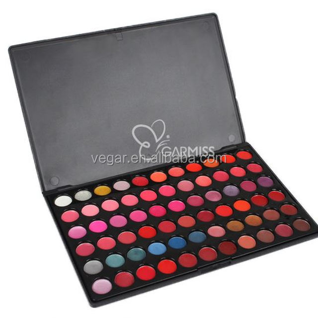 66 colors lip palette for professional make up lipgloss cosmetics face lips moist