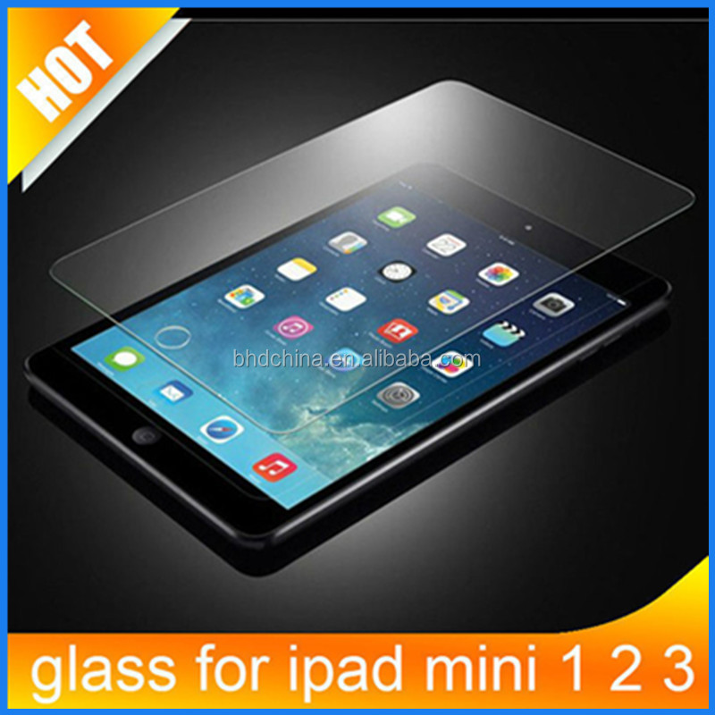 Cheap price Premium Real Tempered Glass Film Screen Protector for IPAD mini 2/3/4 protective film for ipad pro