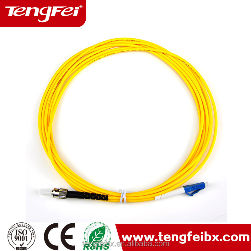 3.0mm LC/PC singlemode 9/125 simplex fiber optic patch cable /Patch kabel