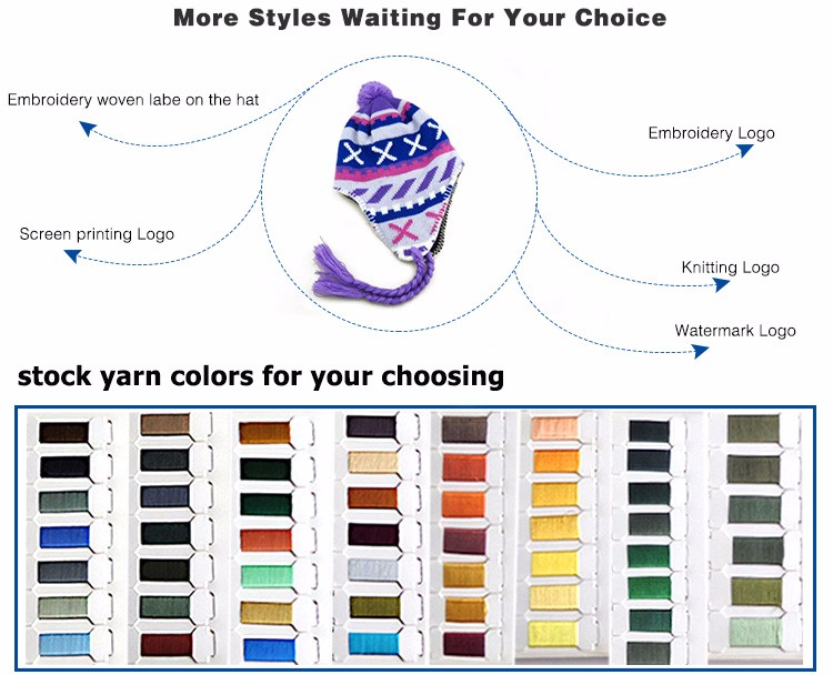 wholesale cheap winter knit wool man crochet hat