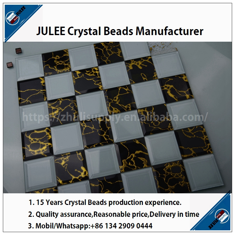 Cheap price crystal mosaic china factory glass mosaic pool tile