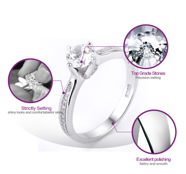 AAA cz stone pave setting handmade 925 sterling silver rings for men