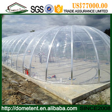 Transparent Tensile Membrane Structure Canopy Roof ETFE Price For Greenhouse Film