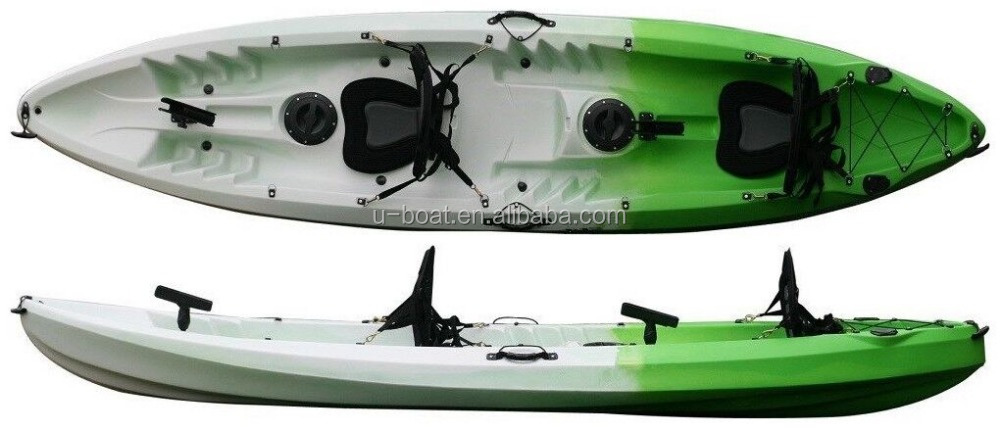 Have fun with U-Boat three person tandem fishing kayak