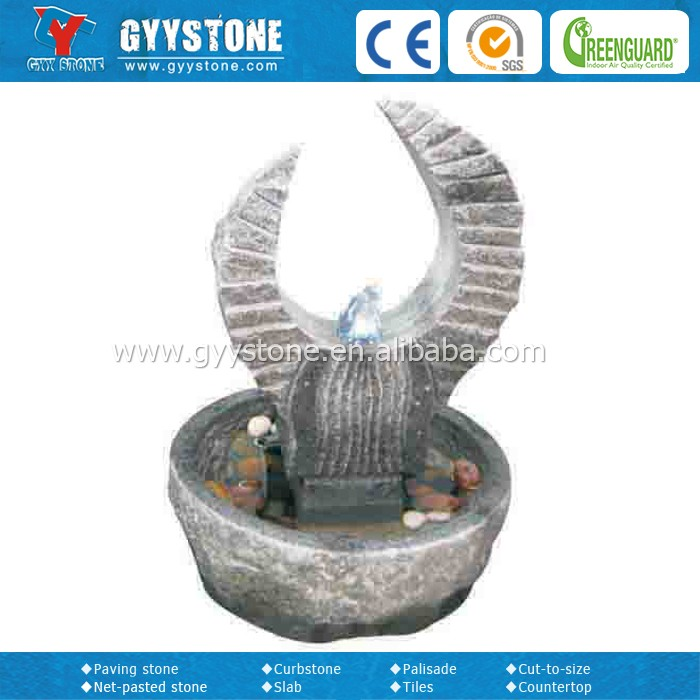 Factory price customized bronze water fountain for home