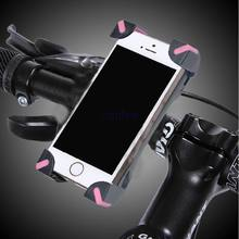 Bicycle Bike Phone Holder Handlebar Clip Stand Mount Bracket Cell Phone GPS Motorcycle Holders for iPhone 3GS 4S 5S 5C 6S