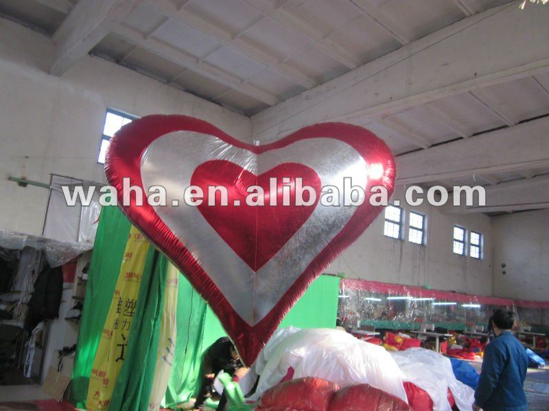 new brand fashion wedding decoration/event decoration/inflatable heart shape