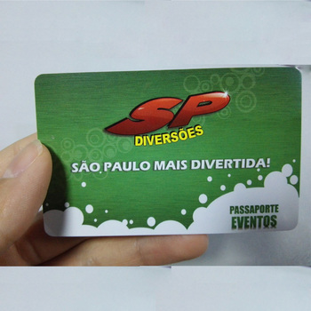 Plastic Brushed Customized Printed Loyalty Gift PVC Card