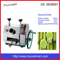 CM-250A Stainless steel manual sugarcane juice making machine