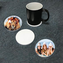 Sublimation <strong>Paper</strong> Printing Blank Ceramic 9cm Mug Coaster