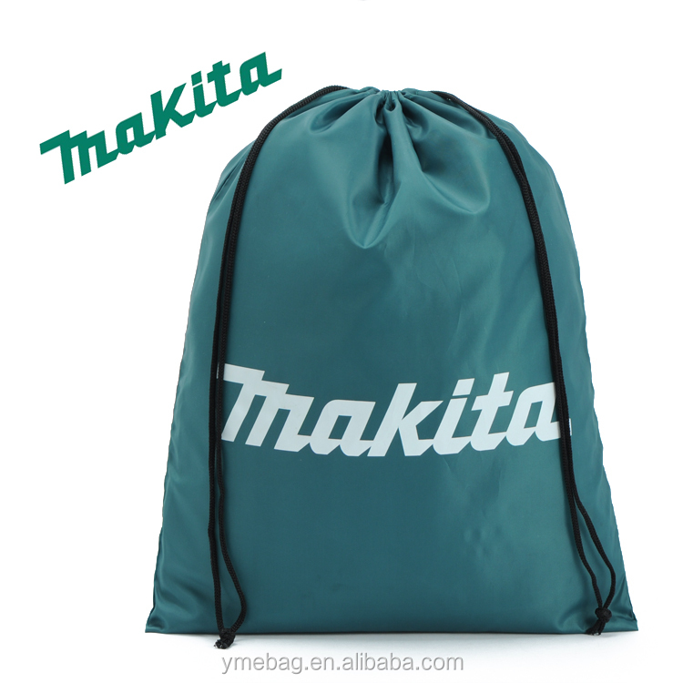 Green shoes drawstring bag for outdoor football college students