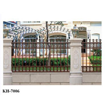 decorative garden security aluminum metal fence panels