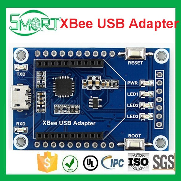 Smart Electronincs UART communication board, XBee/USB interface XBee USB Adapter