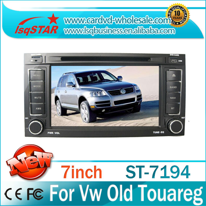 LSQ star wholesale Fit for Volkswagen old touareg car multimedia dvd radio