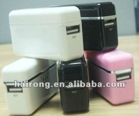 Hairong mini colorful powerbank portable power charger for mobile phone