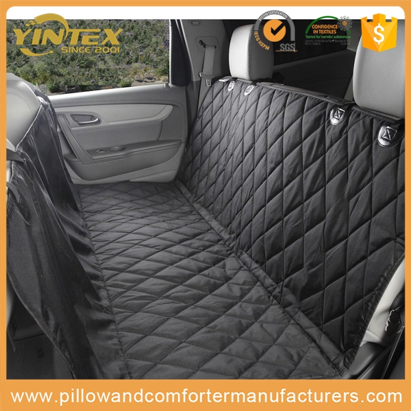 Car Pet Seat Covers Waterproof Back Bench Seat Quilted velvet Car Travel Accessories Car Seat Covers Mat for Pets Dogs products