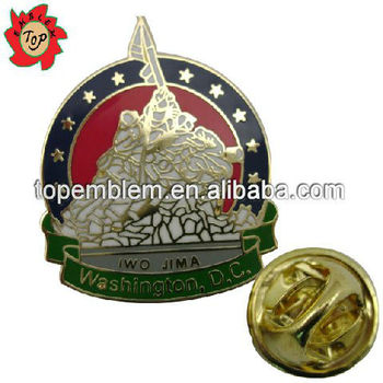 IWO JIMA military lapel pins