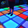 Color changeable wedding DJ events RGB led slim dance floor